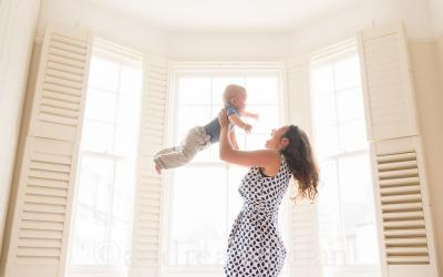 Mother and Baby photo shoot in Greenwich {London baby photographer}