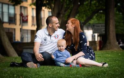 Family Photoshoot in London