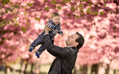 Blossom Trees in Greenwich Park Family Photos {London Family Photographer}