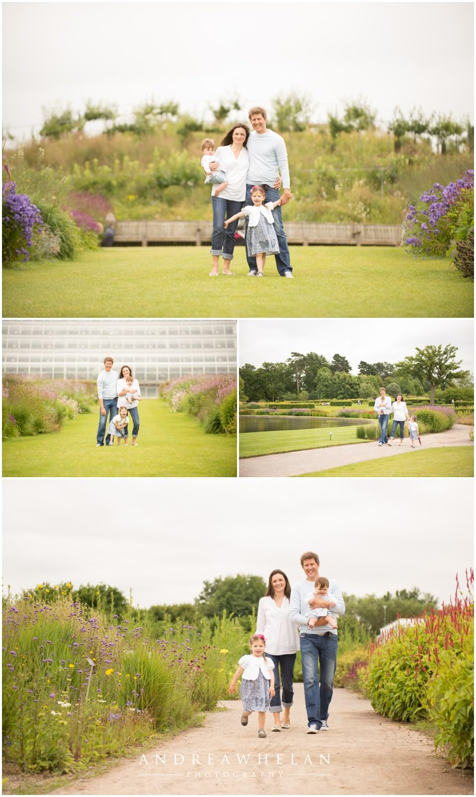 family photo shoot wisely garden surrey photographer