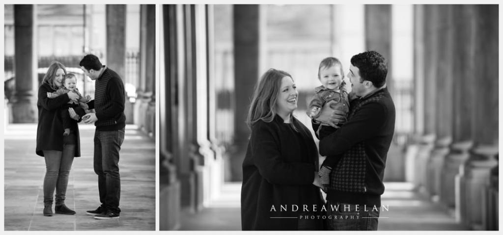Family baby photo session Royal Naval College Greenwich
