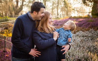 Family Portrait Photographer in Greenwich Park