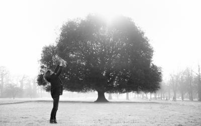 Winter family photo shoot in Greenwich