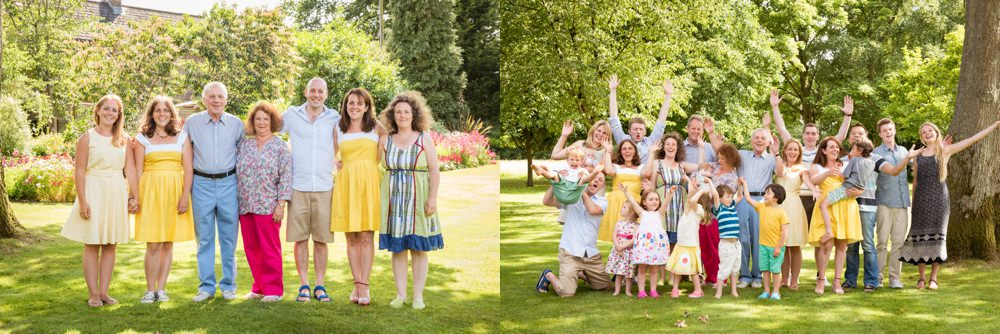 Extended family photography Sussex