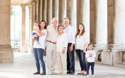 Extended family photo session | London portrait photographer