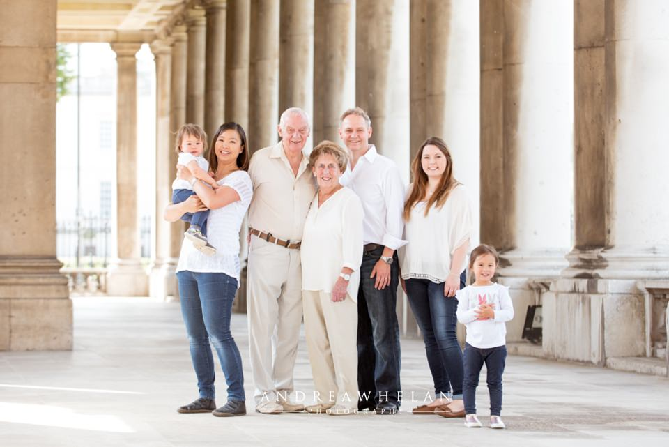 Extended family photo session | London portrait photographer