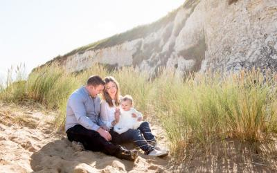 Kent Beach Family Photographer