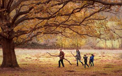 Richmond Park – London Family Photographer