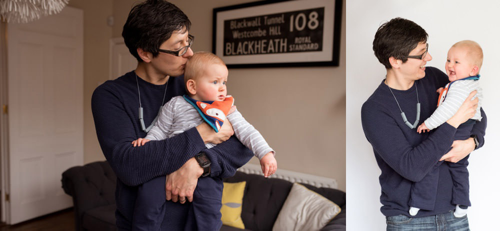 Dad's teething necklaces