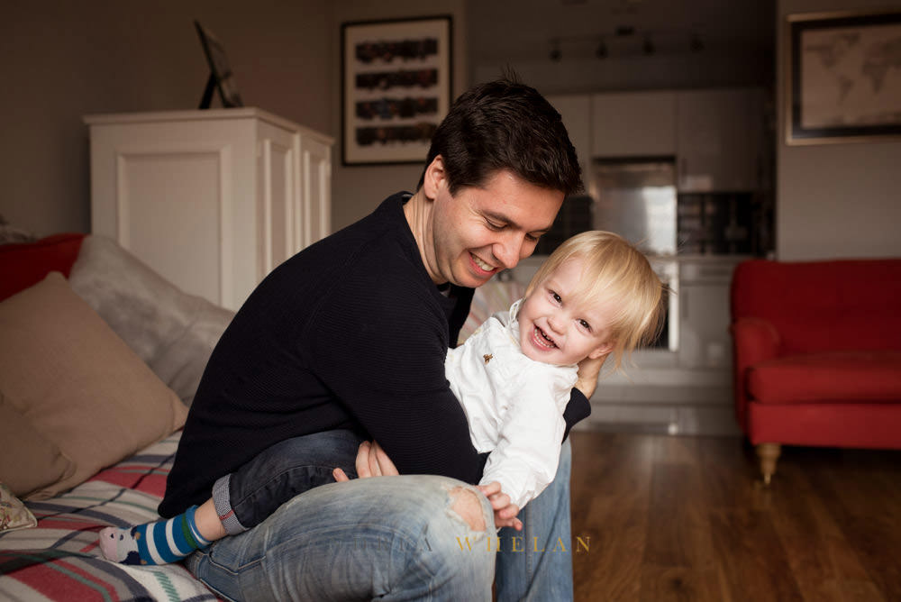 dad and son lifestyle photo session