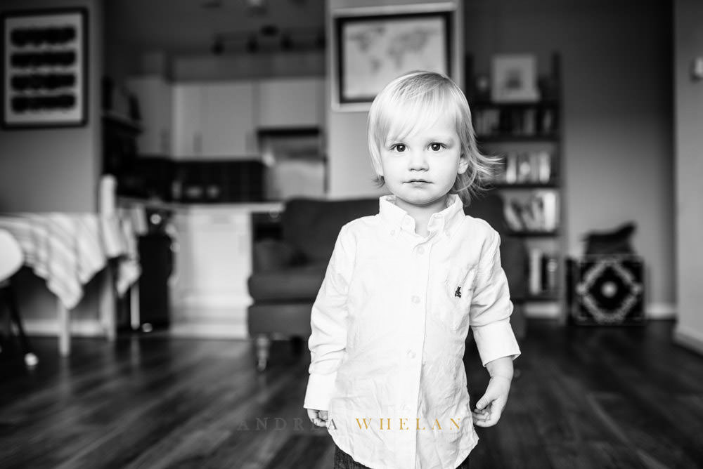 Black and white childrens photographer East London