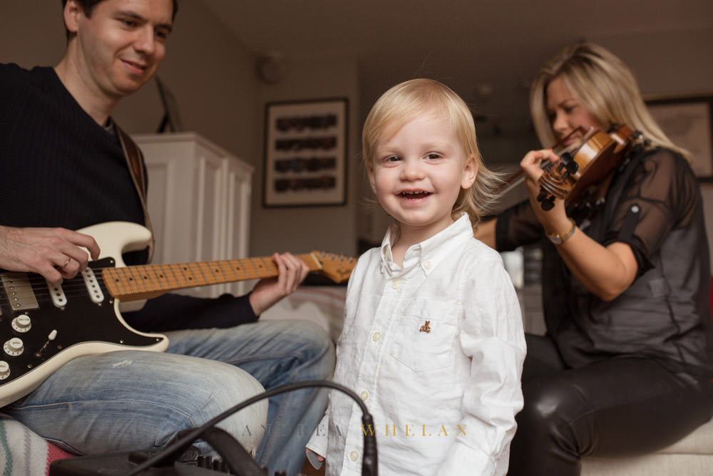 Limehouse musical family photo session