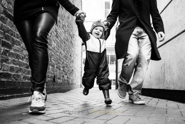 London family fun photo session