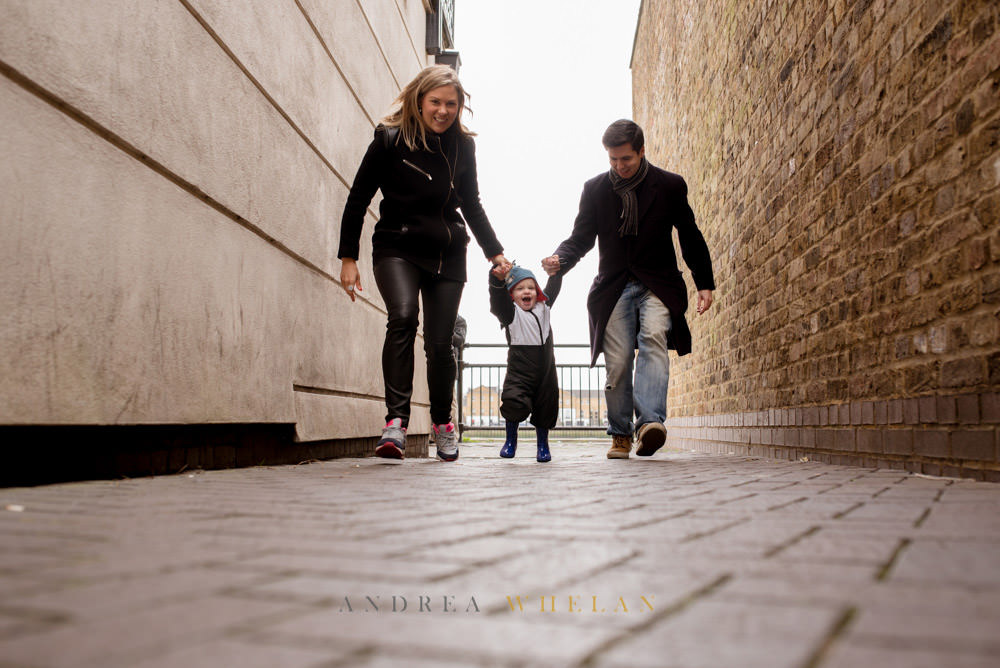 Fun london family portrait sessions