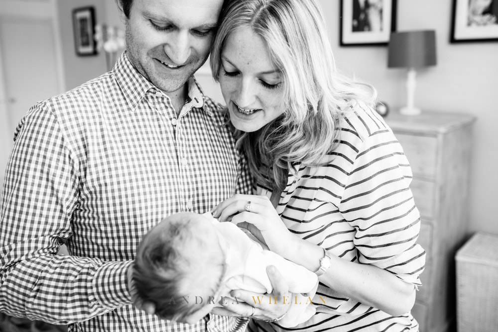 Newborn baby photo session London