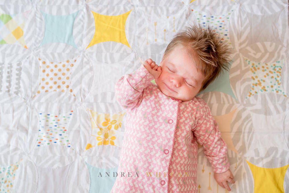 Newborn lifestyle photography London