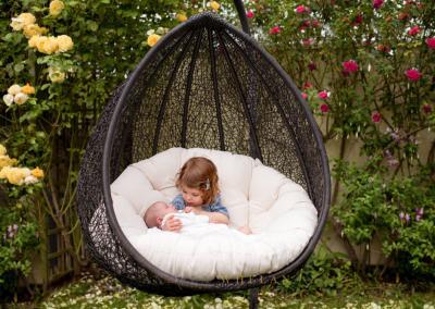 Newborn family photography South London