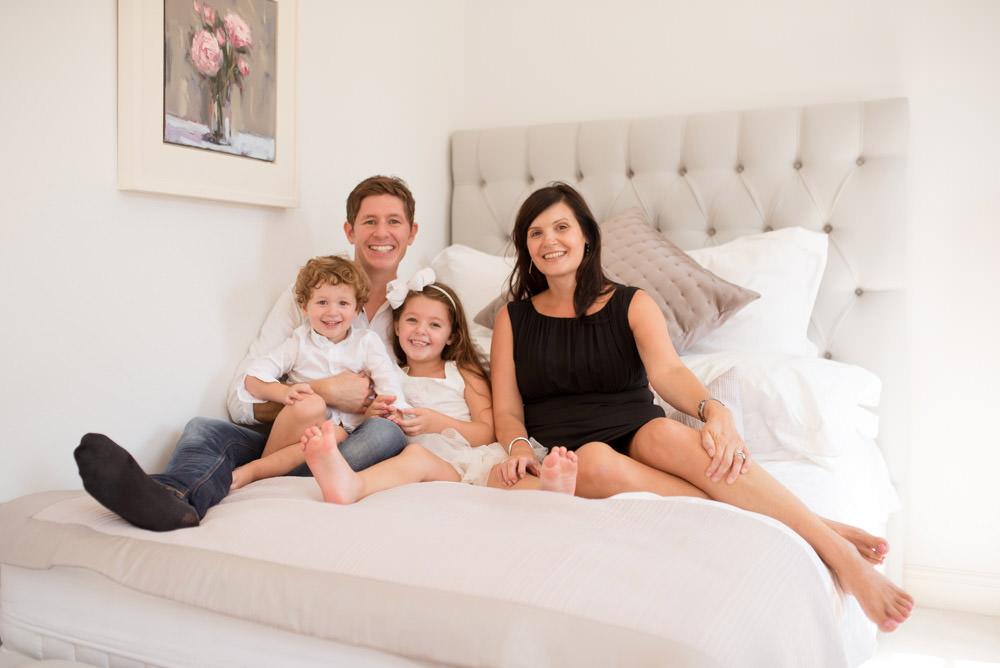Family portrait photographer Islington