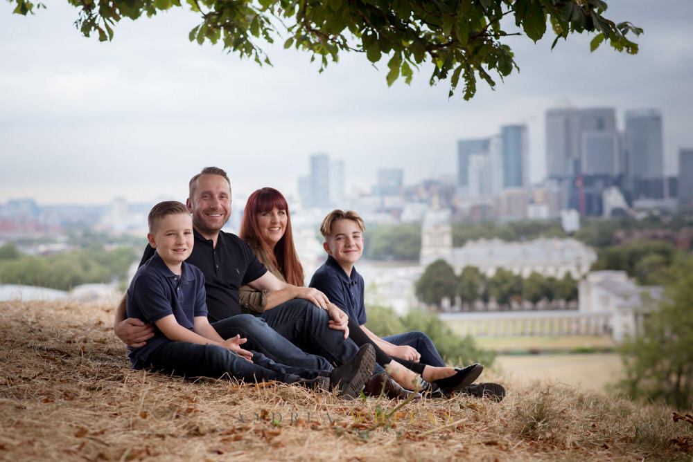 Greenwich View Family Photography Session