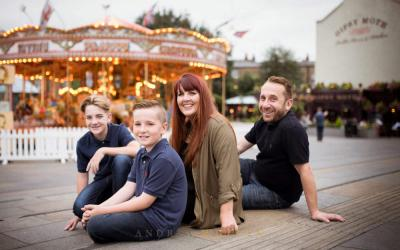 !Stop press! Professional photographer in their own family photos…