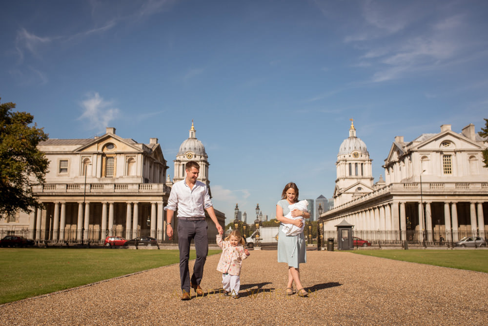 Greenwich family portrait