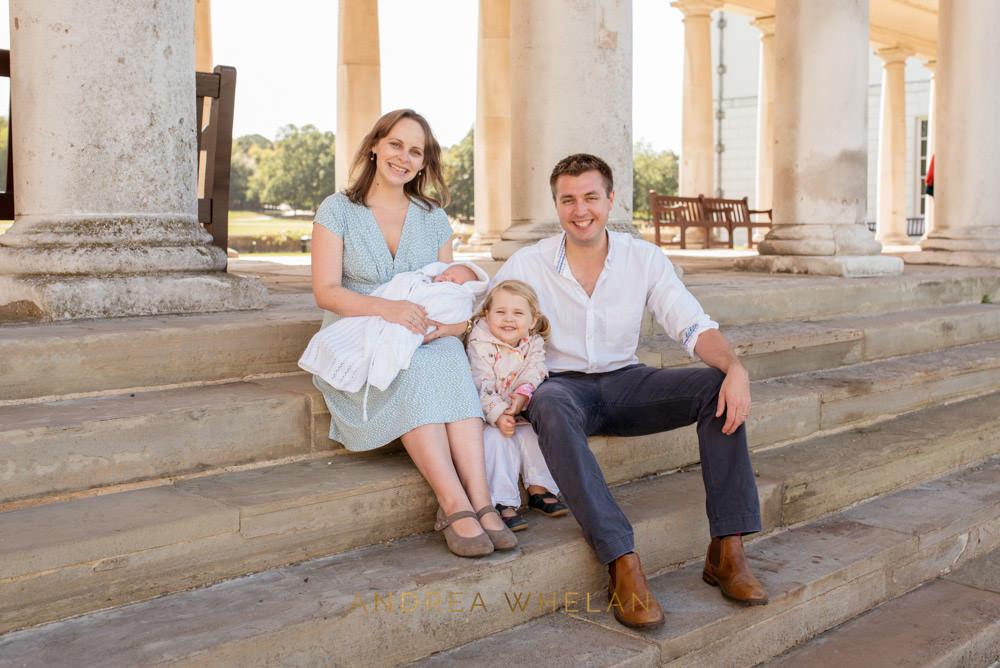 Greenwich family portrait