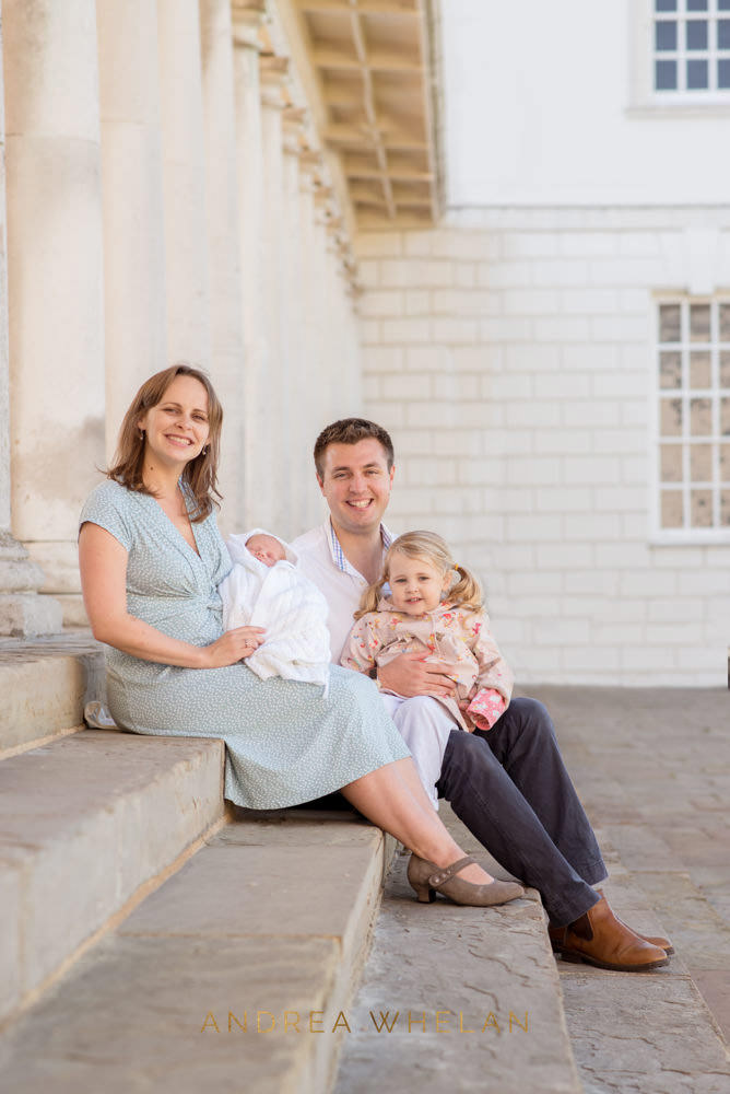 newborn family portrait London