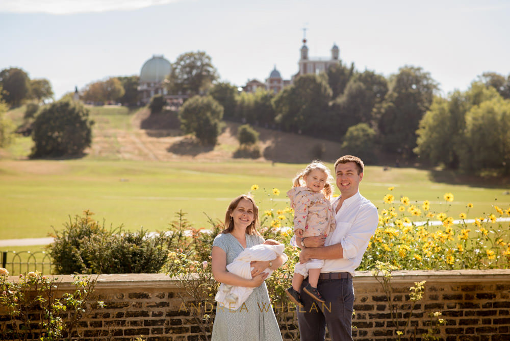 Greenwich Park family photographer