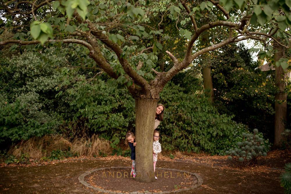 Hiding behind a tree Charlton Park