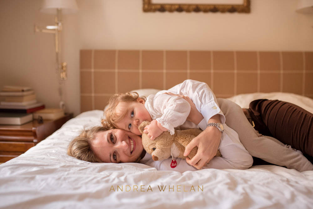 lifestyle mother and daughter portrait