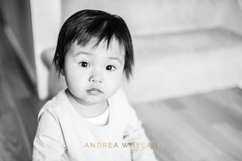 black and white chinese baby girl