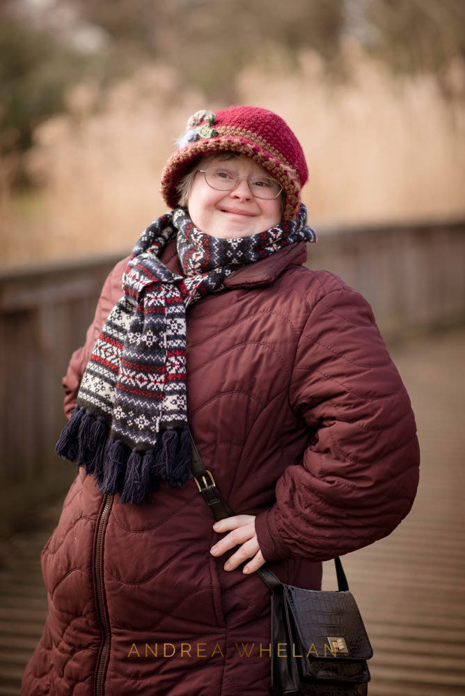 Down Syndrome Woman portrait