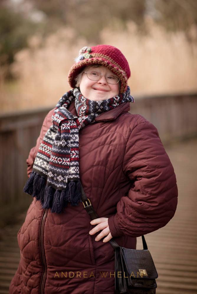 Down Syndrome Woman portrait
