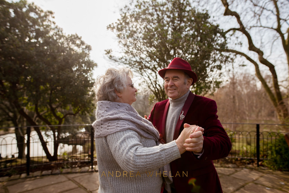 Golden Wedding Anniversary Portrait Session