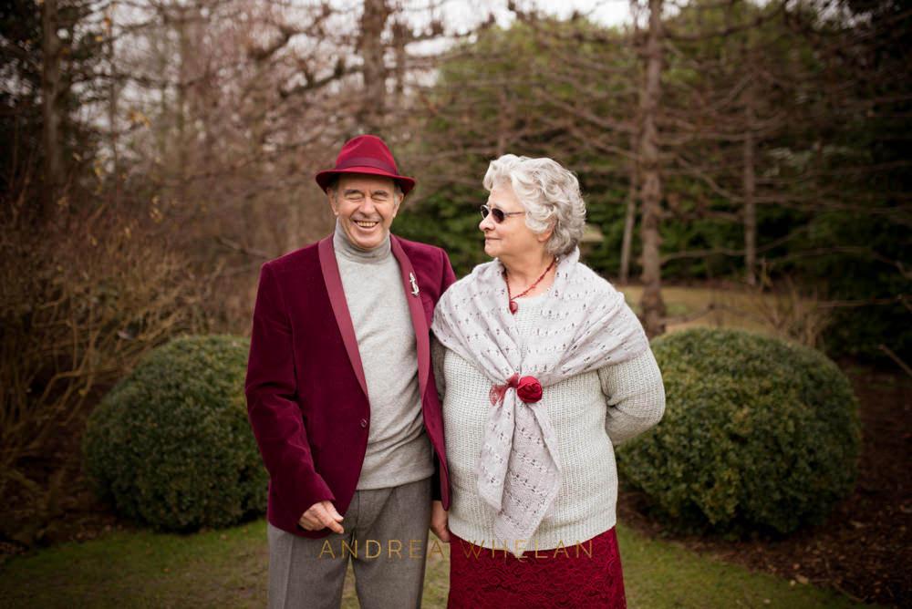Golden Wedding Anniversary Portrait Session