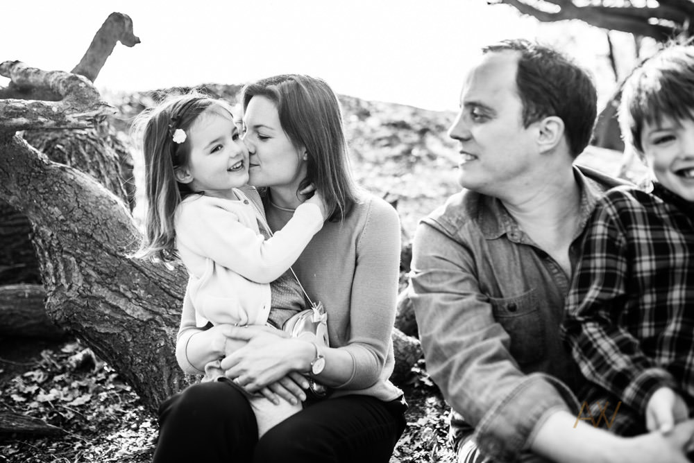 Outdoor family photographer London
