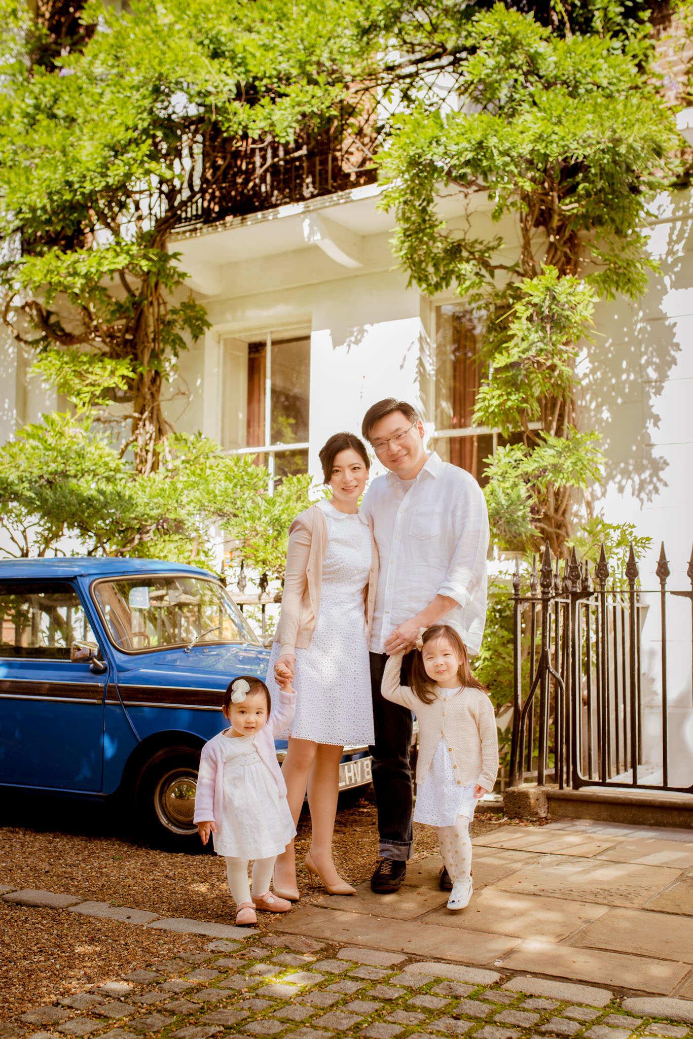 Family portrait photographer Chelsea