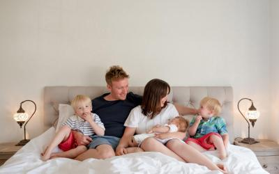Relaxed Family Portraits – London Photographer
