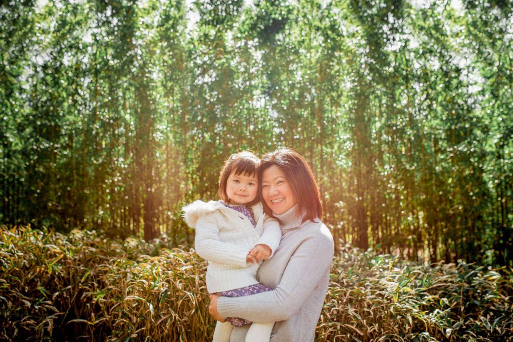 mother and daughter photo session