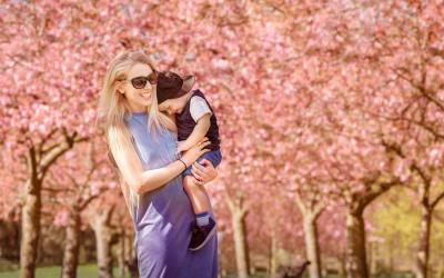 Greenwich Park Blossom – London Family Photographer