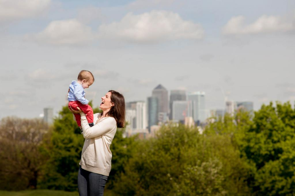 Outdoor family photography London