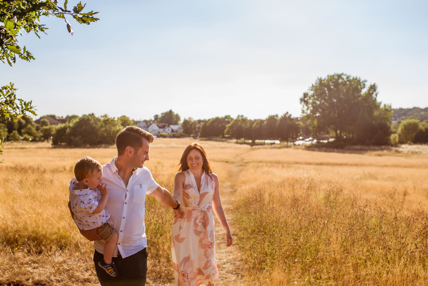 Outdoor Summer Family Photography Session