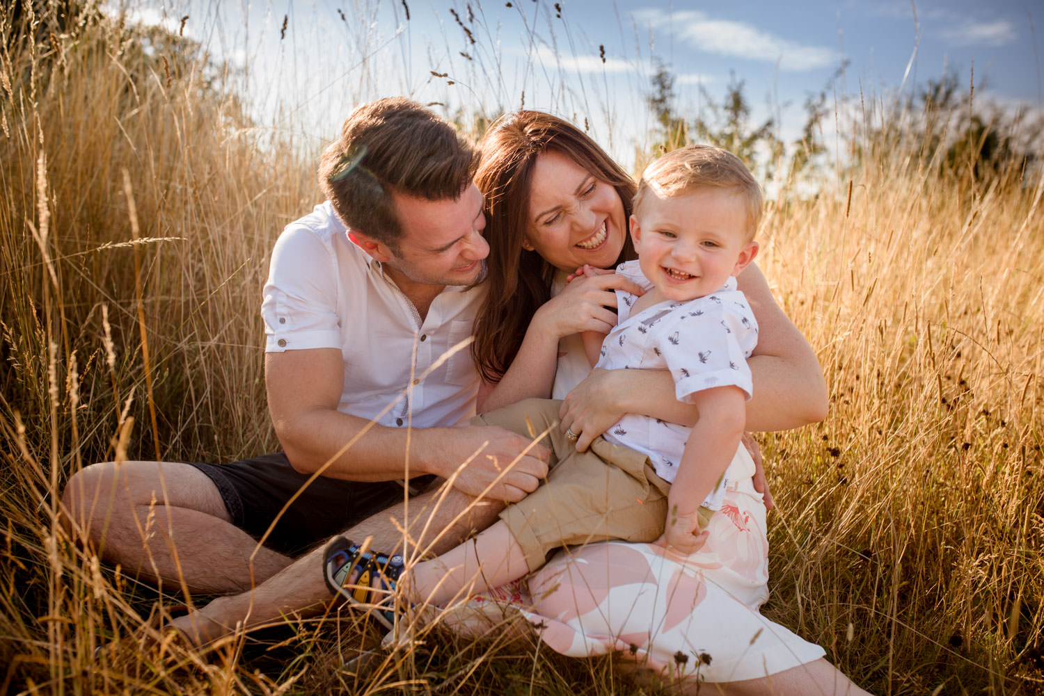 Outdoor Summer Family Photography London