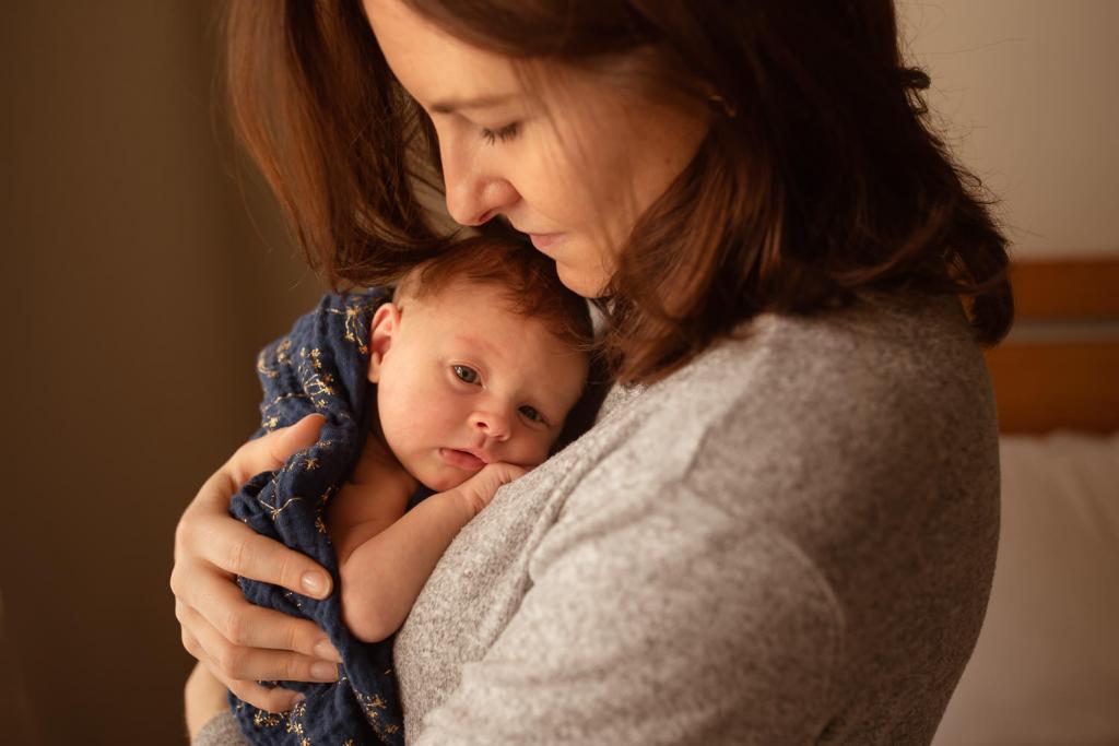 newborn baby photo session Greenwich