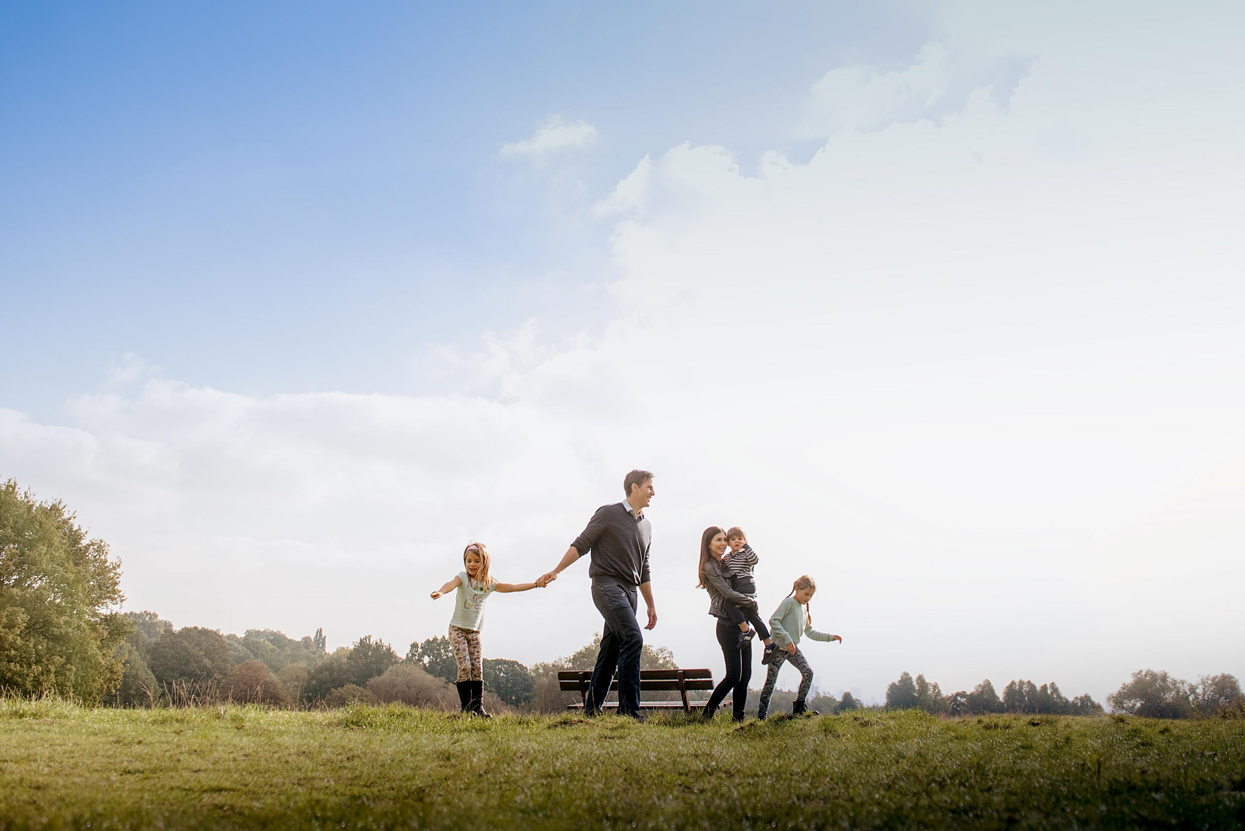 Hampstead Heath Family Photographer